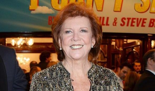 Cilla Black speaks of pain of losing husband and battling arthritis as she collects award