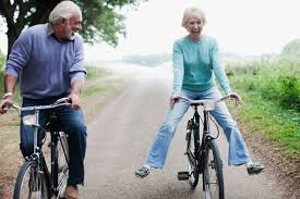 bicycle couple