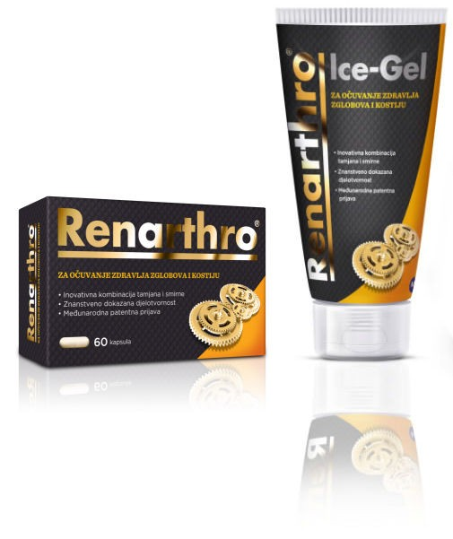 Renarthro Capsules and Ice-Gel