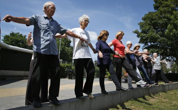 Parkour Helps Seniors Cope with Arthritis
